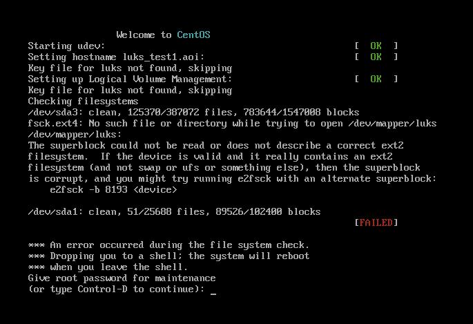 etc/fstabの記述ミスなどでLinuxが立ち上がらないときの対処 | bacchi me